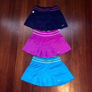 Three Nike Skirts
